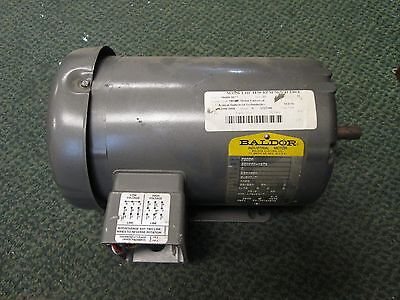 Baldor Ac Motor M3558 1hp 1140rpm 230460v 3.41.7a 60hz 3ph New Surplus