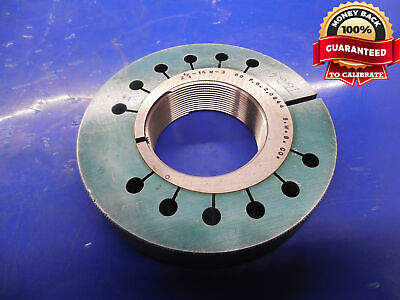 2 18 16 N 3 Thread Ring Gage 2.125 Go Only P.d. 2.0844 N-2 N-3 Inspection