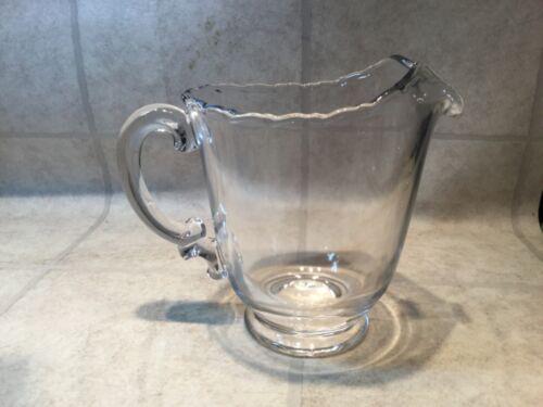 Fostoria Century Crystal Glass Water Pitcher with Ice Lip