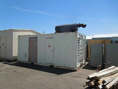 Cummins 500kw625kva 480277v 3ph Standby Diesel Ac Generator Outdoor Enclosure