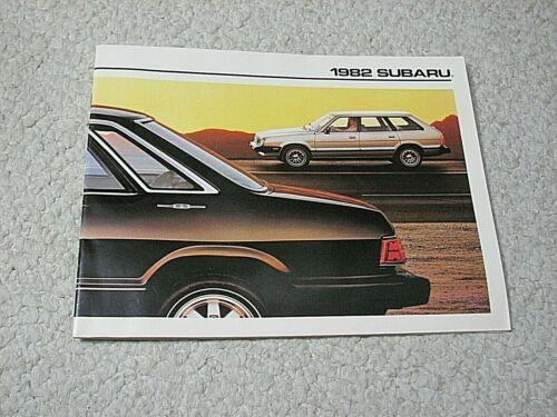 1982 SUBARU (USA) SALES BROCHURE..