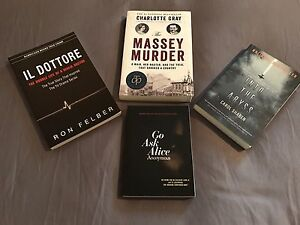 4 Fiction Books in great condition