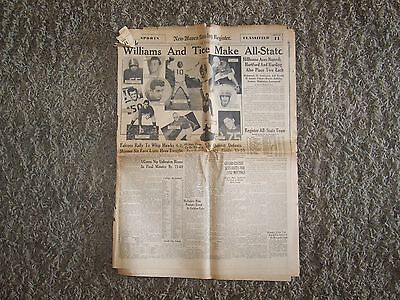 Dec 9 1951 New Haven Conn Sunday Register Newspaper  Sec Ii Sports   Classifieds