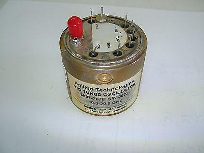 Agilent 10 - 20ghz Yig Oscillator 5087-7078