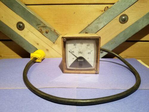 Vtg Crompton Instruments 45 - 65 Hz Frequency Panel Meter 016-41 - Swanky Barn