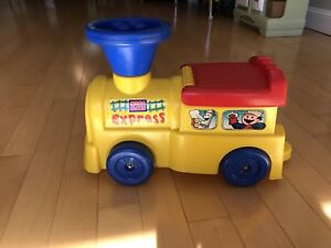Mega blocks express ride on toy with storage $5.00