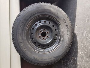 255/65/r16 Winter Blizzak Tires on Rims for Sale