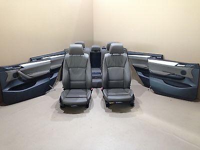 BMW F25 X3 Leather Seats Sport Interior Sitze Lederausstattung NEVADA BRAUN, gebraucht gebraucht kaufen  Versand nach Germany
