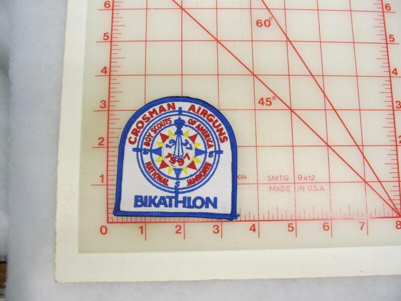 1997 Jamboree collectible Bikathlon patch (o47)