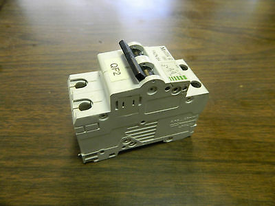 Klockner Moeller Circuit Breaker, FAZN S4, 2 Pole, Used, WARRANTY