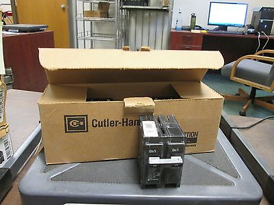 Cutler-hammer Br Circuit Breaker Br250 50a 120240v 2p Box Of 5 New Surplus