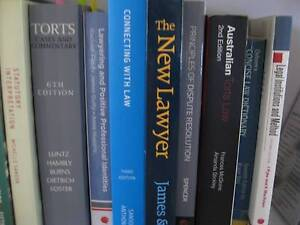 ASSORTED LAW TEXT BOOKS Kenmore Brisbane North West Preview