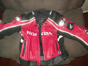 Motorbike jacket Lockridge Swan Area Preview