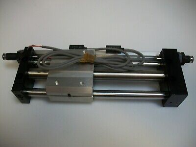 Smc Ncdy1s15h-0500b-f79 Guided Rodless Air Cylinder Ncdy1s15h0500bf79