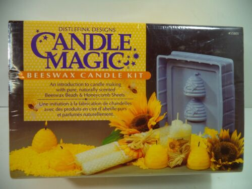 Candle Magic Bees Wax Candle Making Kit by Distlefink Designs