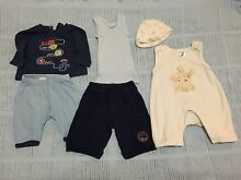 Baby boys 0-3 months winter clothes Macquarie Fields Campbelltown Area Preview