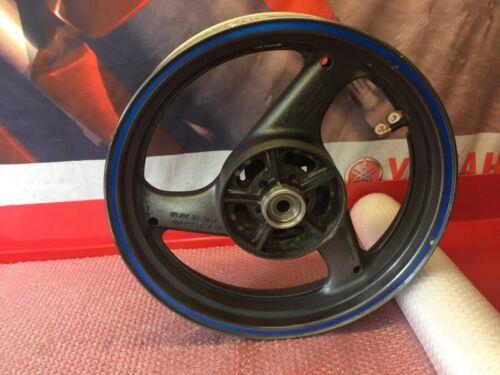 Suzuki GS500, GS 500E, Rear Wheel, Came From a 2002, 52 Reg Model.