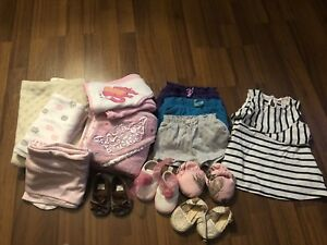 Misc girls 3-6 month items