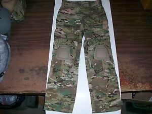 NWOT-MULTICAM-ARMY-COMBAT-PANT-WITH-CRYE-PRECISION-KNEE-PADS-SIZE-LG-LONG