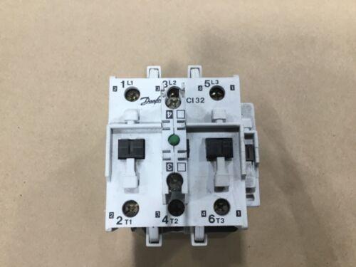 Danfoss CI32 Contactor 240V 50hz 288V 60hz  With CB-NO Auxilary Contact #001B20