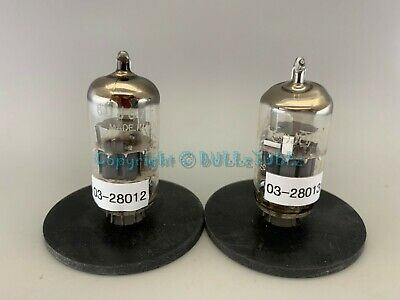 6DJ8 ECC88 Amperex Small Halo Getter Tubes *PLATINUM MATCHED on AT1000* for sale  Shipping to South Africa