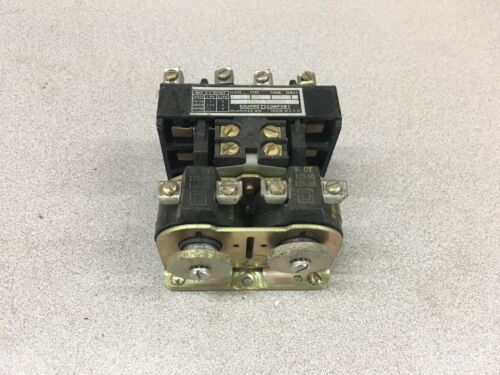 USED SQUARE D REVERSING CONTACTOR 8970 R05S2 SERIES A