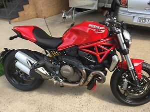 2014 MY15 Ducati Monster 1200 Wallacia Liverpool Area Preview