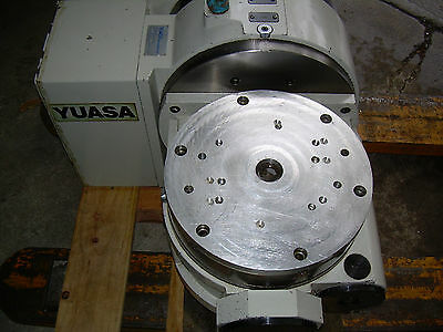 Yuasa 4th 5th Axis Cnc Tilt Rotary Table Utrt-320 Yuasa Undc-m2 Program Control