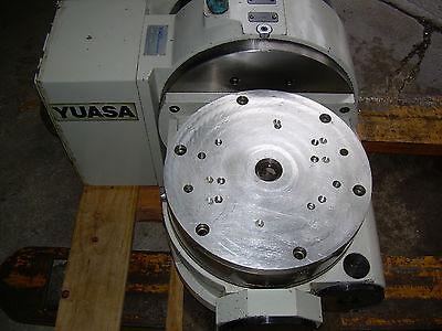 Yuasa 4th 5th Axis Cnc Tilt Rotary Table Utrt-320 Yuasa Undc-m2 Program Control
