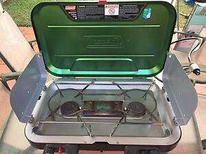 Coleman Camping Stove with electronic ignition and Griddle Plate Thornlands Redland Area Preview