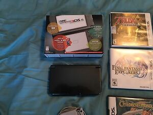 NEW Nintendo 3DS XL and games