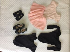Girls dance clothes + size 11 tap shoes