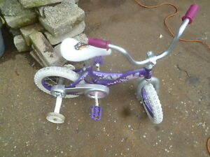 Velo 12 pouces pour petite fille  bicycle for litlle girl