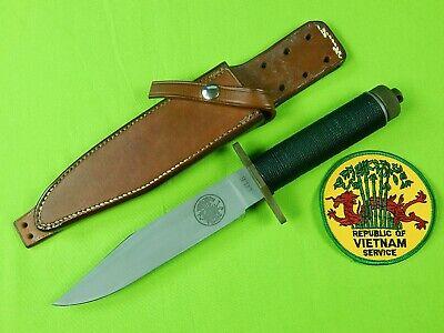 "Custom Handmade Jimmy Lile 1st Issue Vietnam Veteran 7"" Survival Fighting Knife"