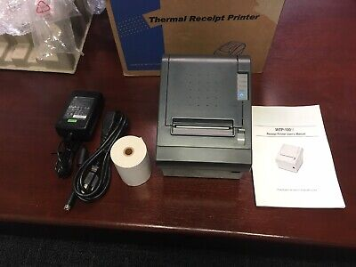 Pos Woosim Wtp-100 Ii Thermal Receipt Printer Usb B Type