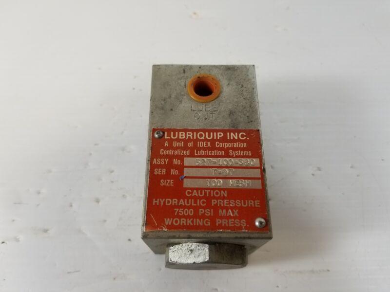 IDEX Lubriquip 527-100-380 Sediment Strainer 100 Mesh