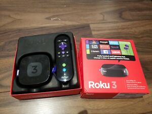 Roku 3 Media Player Perfect Condition