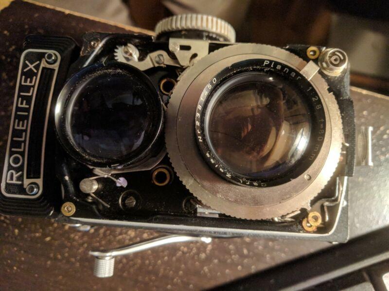 CLA service for Rolleiflex 2.8 F TLR cameras