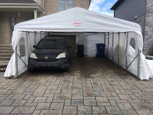 Abri Auto TEMPO Car Shelter