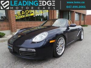 2006 Porsche Boxster S Heated Seats, Bose Sound System