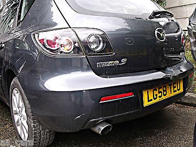 Brand New Rear bumper reflector LH Passenger side N/S - Mazda 3 BK - 2006 - 2008