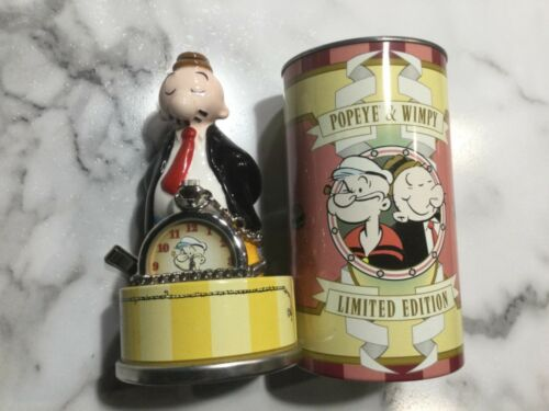 Popeye and Wimpy Fossil Limited Edition Pocket Watch