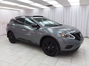 2018 Nissan Murano 3.5SL MIDNIGHT EDITION AWD SUV w/ BLUETOOTH,