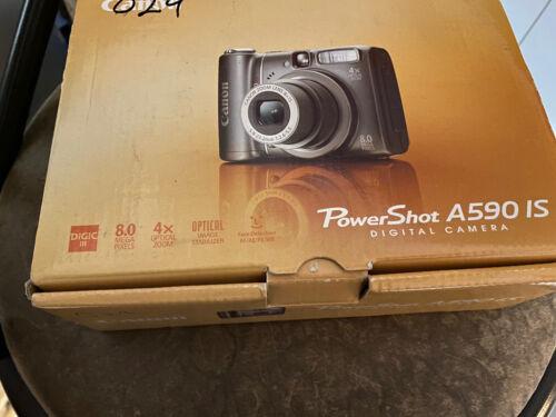 CANON POWER SHOT A590IS DIGITAL CAMERA 8 MEGA PIXELS 4 X OPTICAL ZOOM  - $20.00