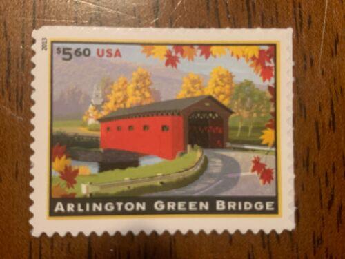 US 4738 ARLINGTON GREEN BRIDGE single MNH