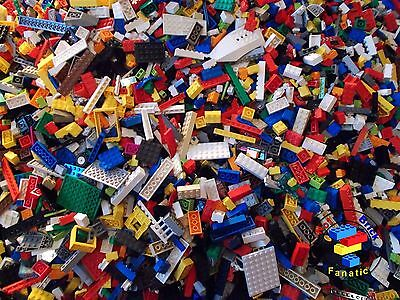 Lego Mixed Bundle 200 pieces - Clean & Genuine Bricks & Parts - Great Selection
