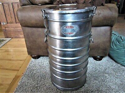 Industrial Aervoid Stainless Steel Thermal Food Carrier Keg Milk Garbage Can