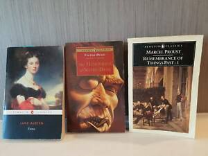 Books - various Classic Fiction