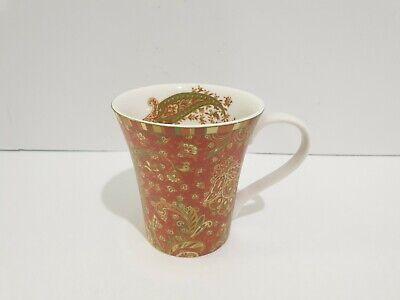 222 Fifth Maharana Red Mug - Set of 2