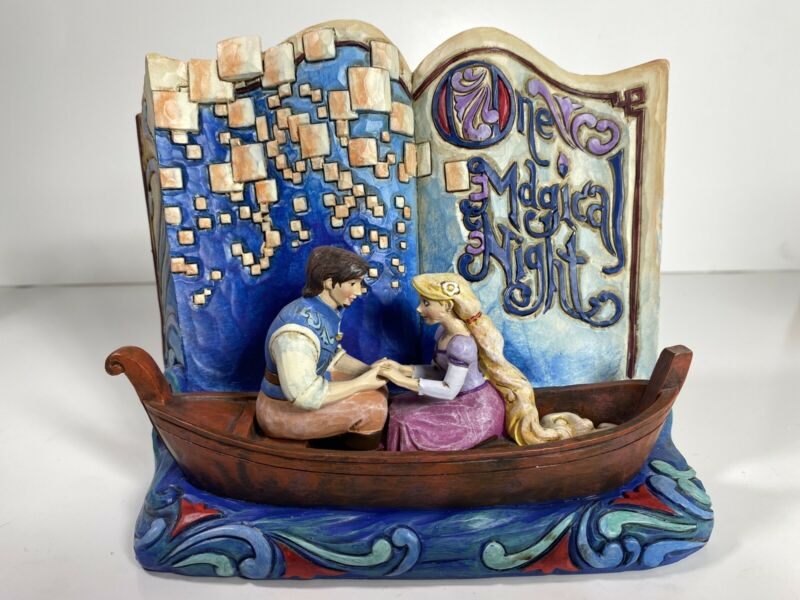 Disney Traditions Jim Shore One Magical Night Tangled With Box 4043625
